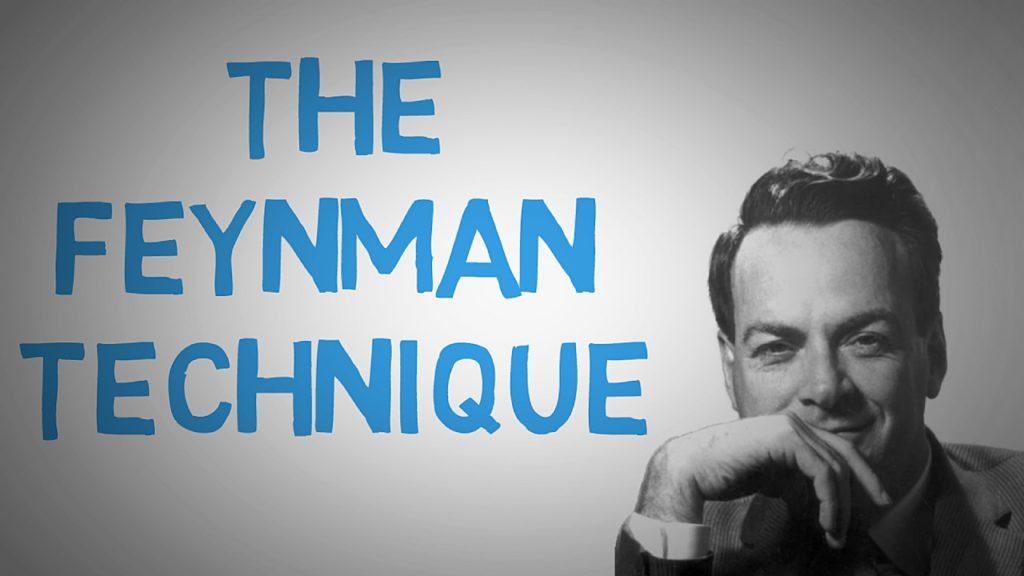 Richard Feynman Technique